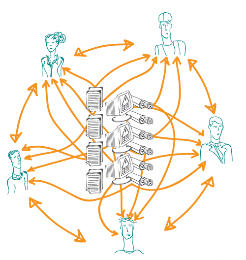 Traditioneel bouwproces