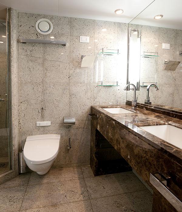 Naast de prijs en snelheid van montage, bieden de prefab badkamers een excellent kwaliteitsniveau.