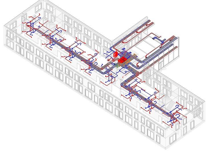 Wanneer iets in het 3D-model wordt aangepast, wordt ook de kostprijs automatisch bijgesteld.